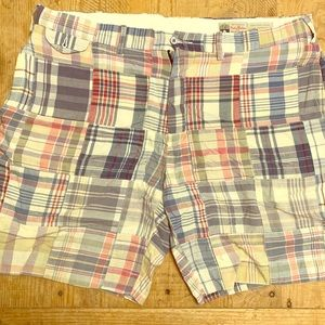 Polo Ralph Lauren Men's Madras Plaid Shorts 36